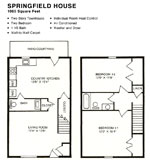 Springfield House, 1065 Square feet